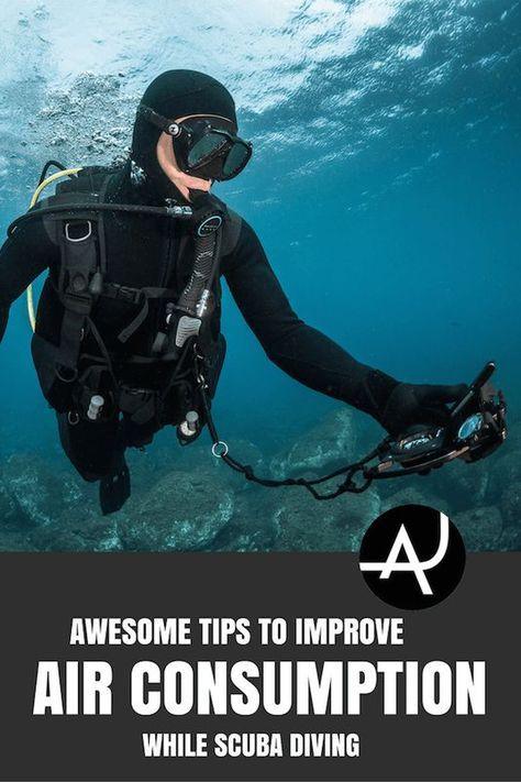 How To Reduce Air Consumption While Diving 14 Tips Scuba Diving Quotes Best Scuba Diving Scuba Diving Tank