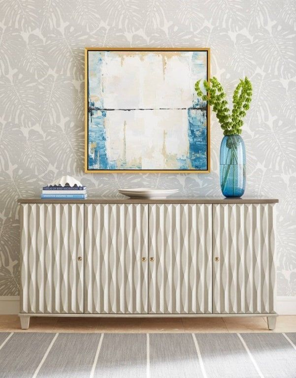 Featuring An Alternately Shaped Relief Pattern On The Face Of The Doors The Tides Buffet