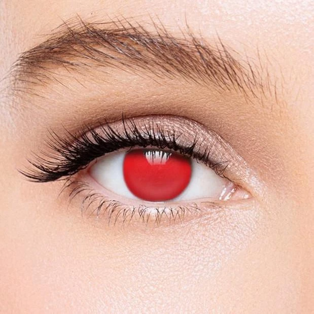 Vscoeye Red Blind Colored Contact Lenses Vscoeye Contact Lenses Colored Red Contacts Lenses Colored Contacts
