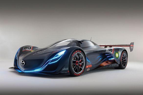Mazda Furai concept car designed and manufactured by Mazda