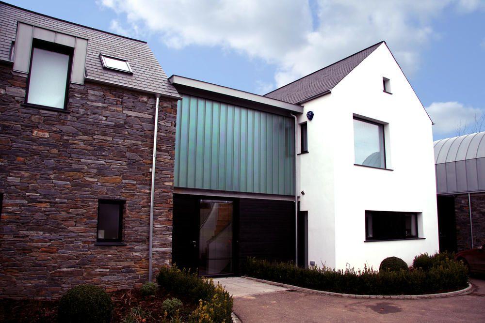Bespoke house in gilnahirkbelfast modern vernacular design