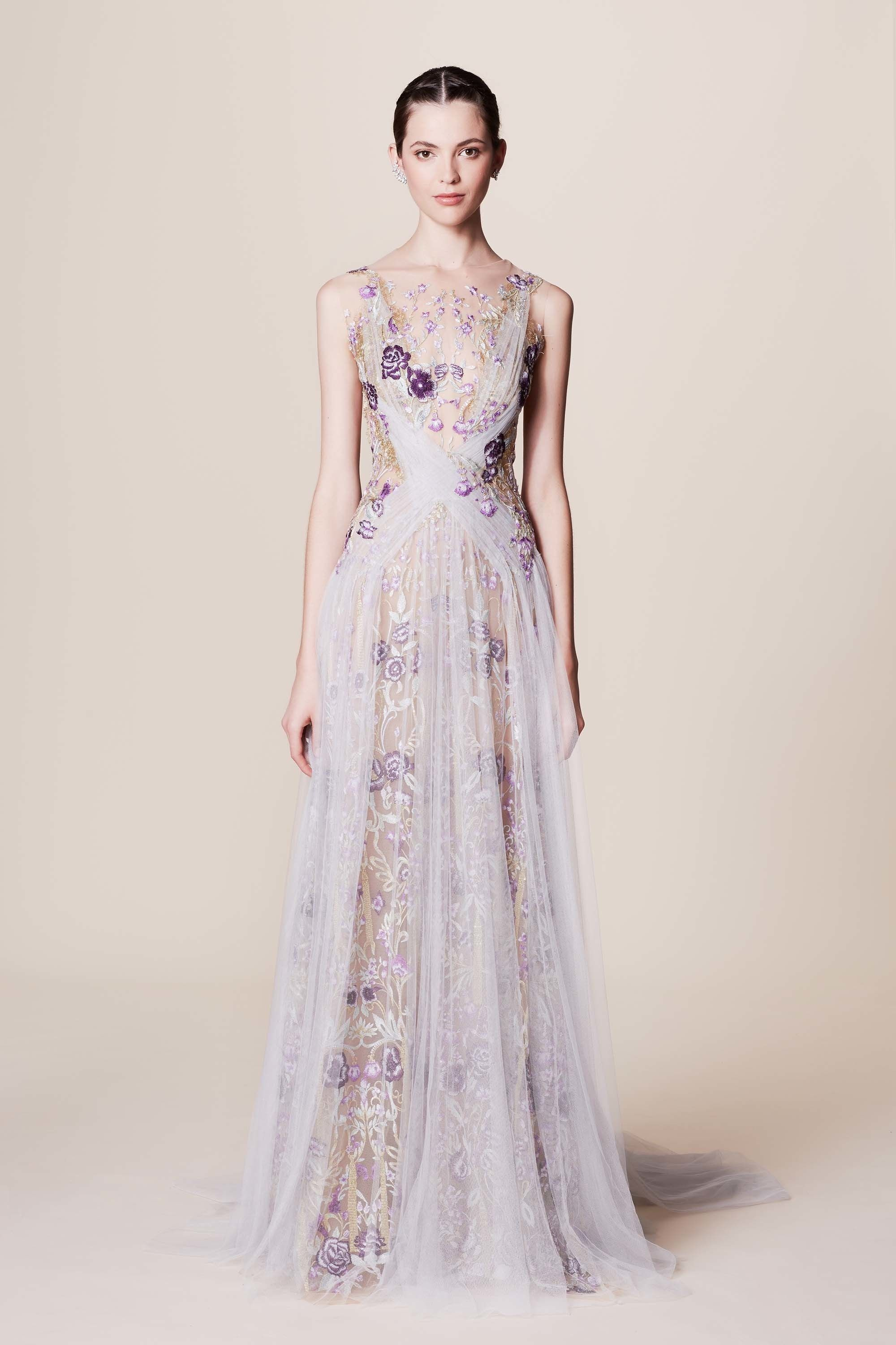 41c23ab81f Marchesa Resort 2017 Fashion Show As with the Marchesa Notte collection,  they booked a white