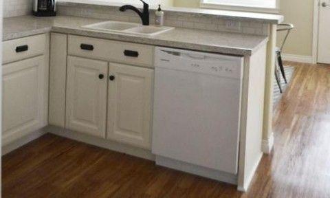 dishwasher end panel cabinets pinterest dishwasher Kitchen Sink Base Cabinet Sizes Finished Kitchen Sink Cabinet Base