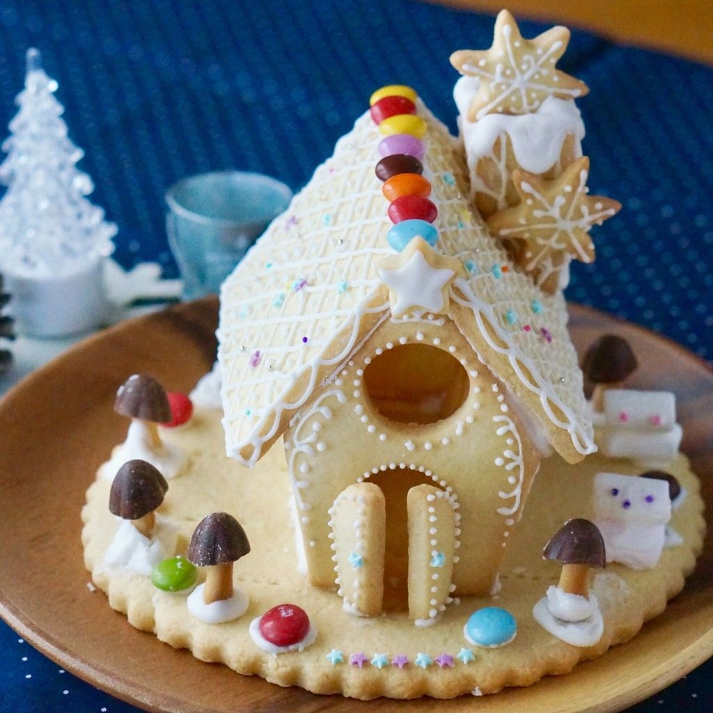 クッキーハウスを建てよう お菓子の家の作り方 お菓子の家