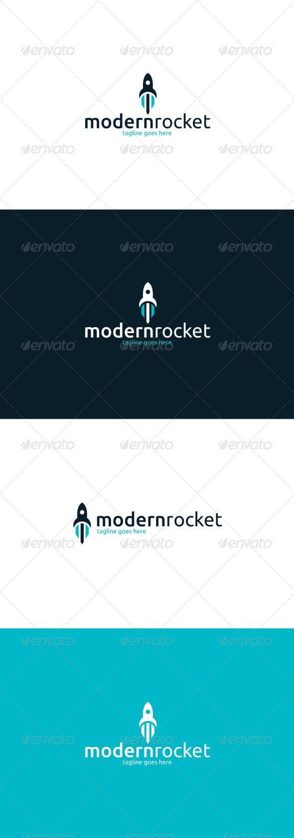 Modern Rocket Logo Rockets Logo Premade Logo Templates Logo Design Template