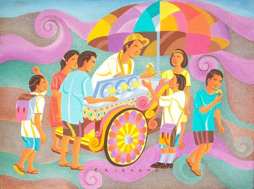 Crisanto Lodronio Filipino Art Philippine Art Filipino Culture