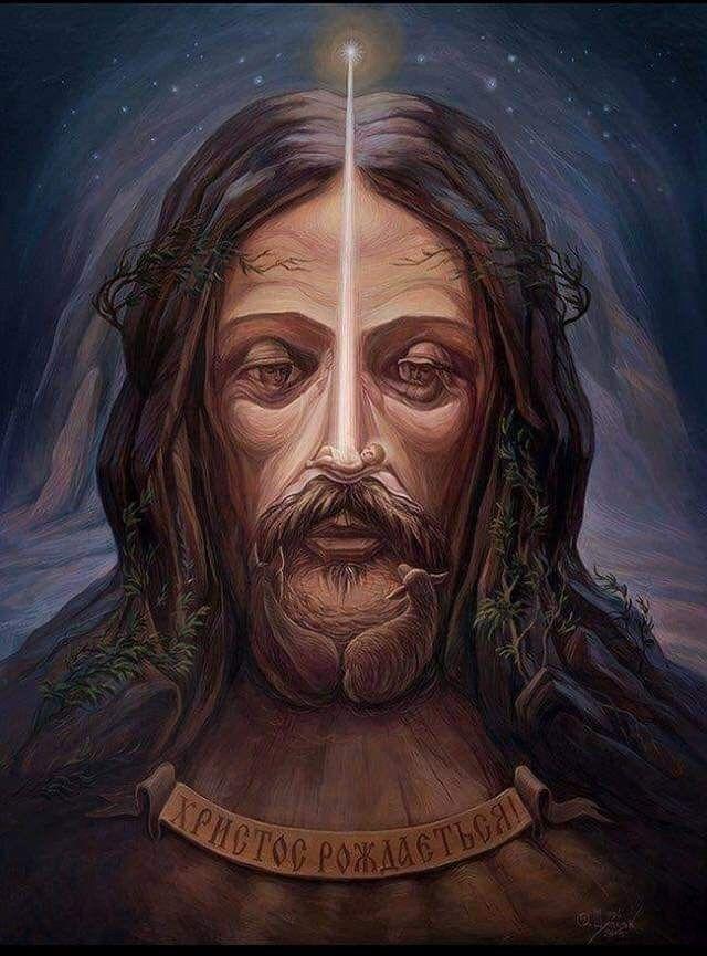 Amplía La Imagen Y Verás En El Rostro De Cristo El Pesebre Arte De La Ilusión óptica Arte De Ilusión Imágenes Ocultas