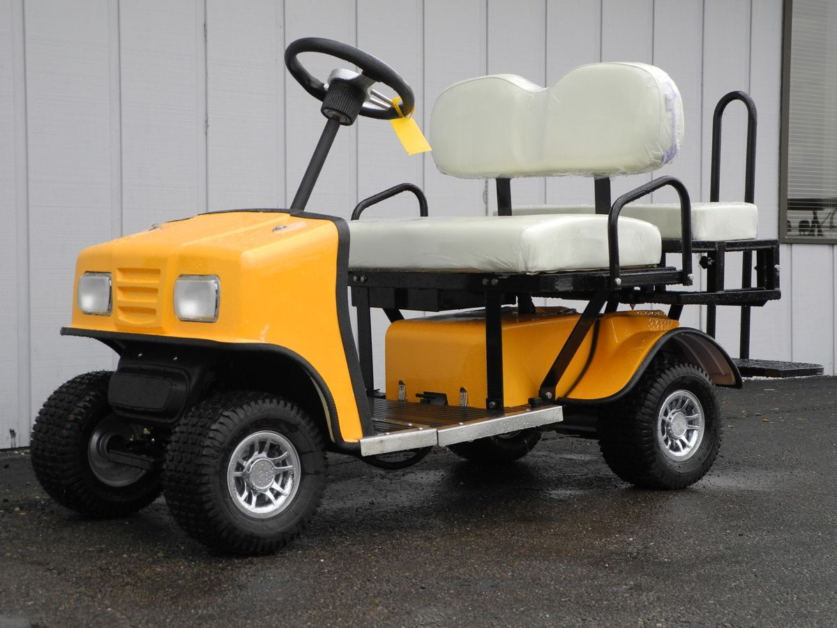 Did You Know That Can Get A Brand New Cricket Personal Electric Sport Mobility Vehicle For Less Than 4k This Yellow Sw3 Without The Top Is In