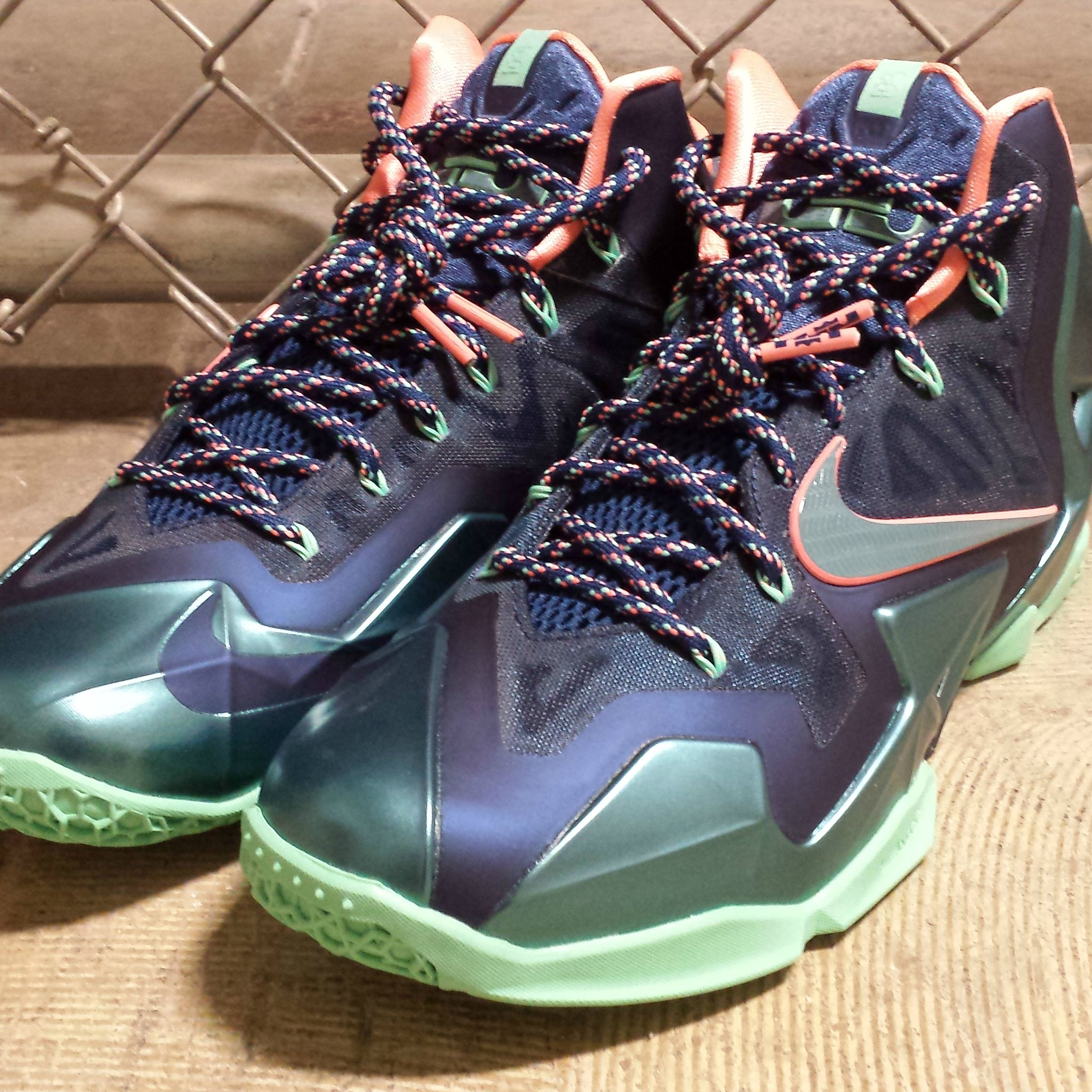 Get the recently released Nike LeBron XI 'Akron vs. Miami' now at #