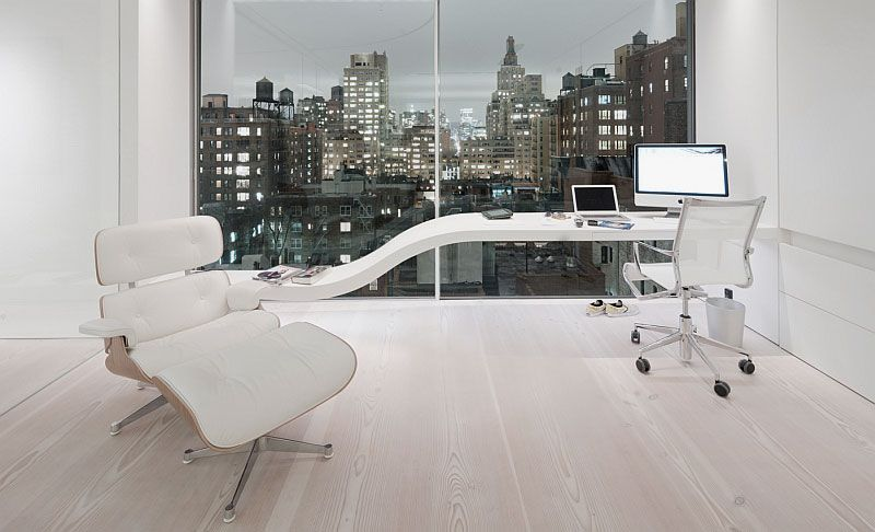 Fine Modern Office Flooring With Decorating