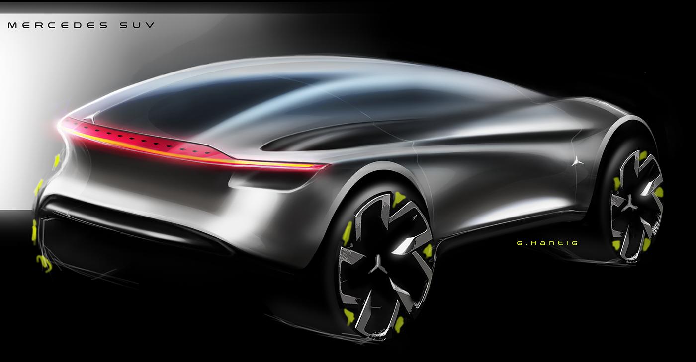 Digital renders/sketches2016 Car design sketch