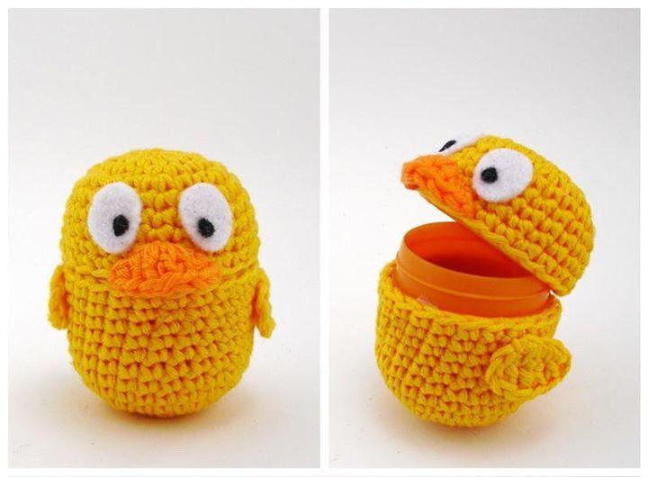 Huevos kinder | kinder sorpresa crochet