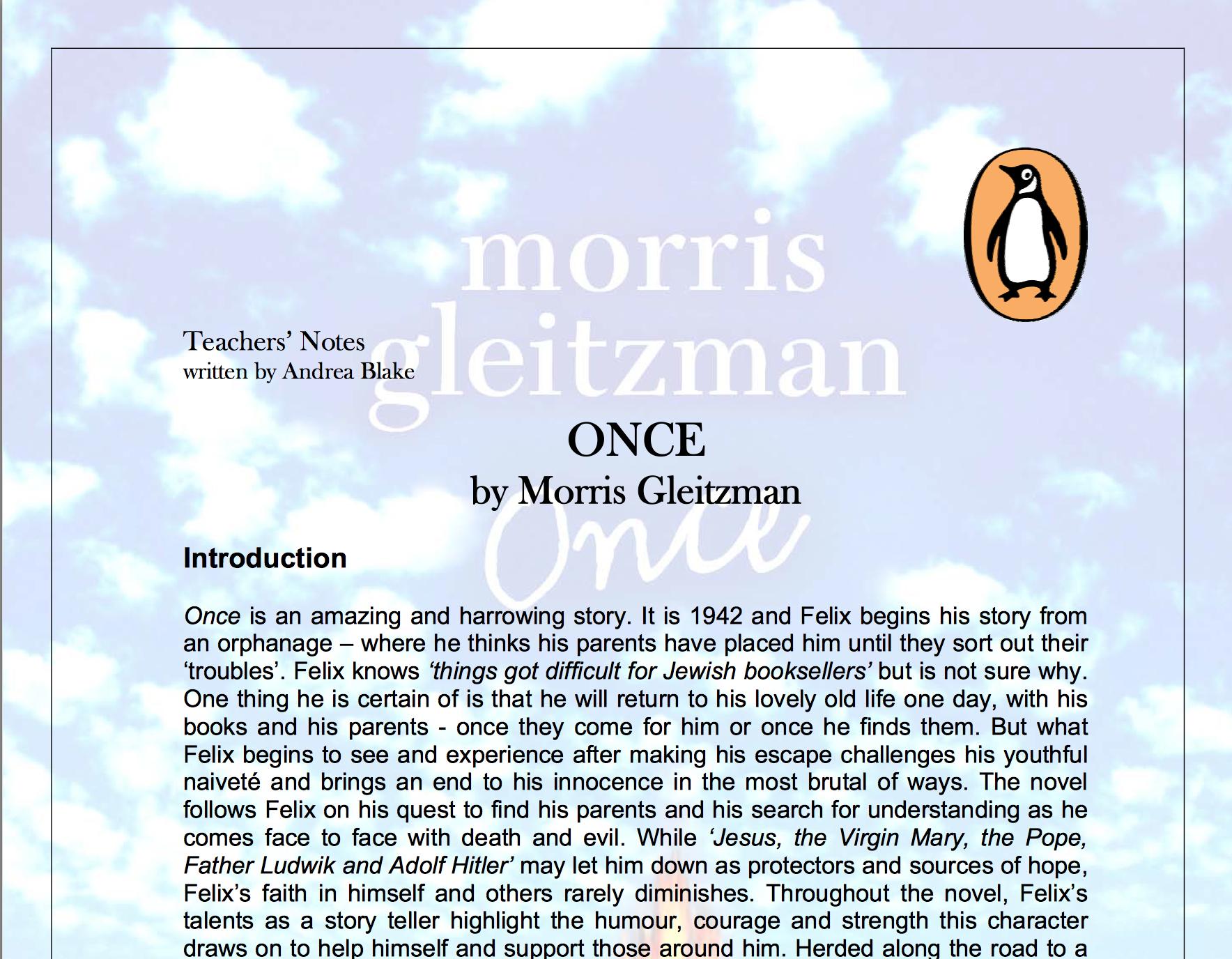 Teacher S Noteshttp Www Penguin Com Au Educationcentre Pdf Teachers Notes Pdf 0143301950 Pdf Teacher Notes Teachers Morris Gleitzman
