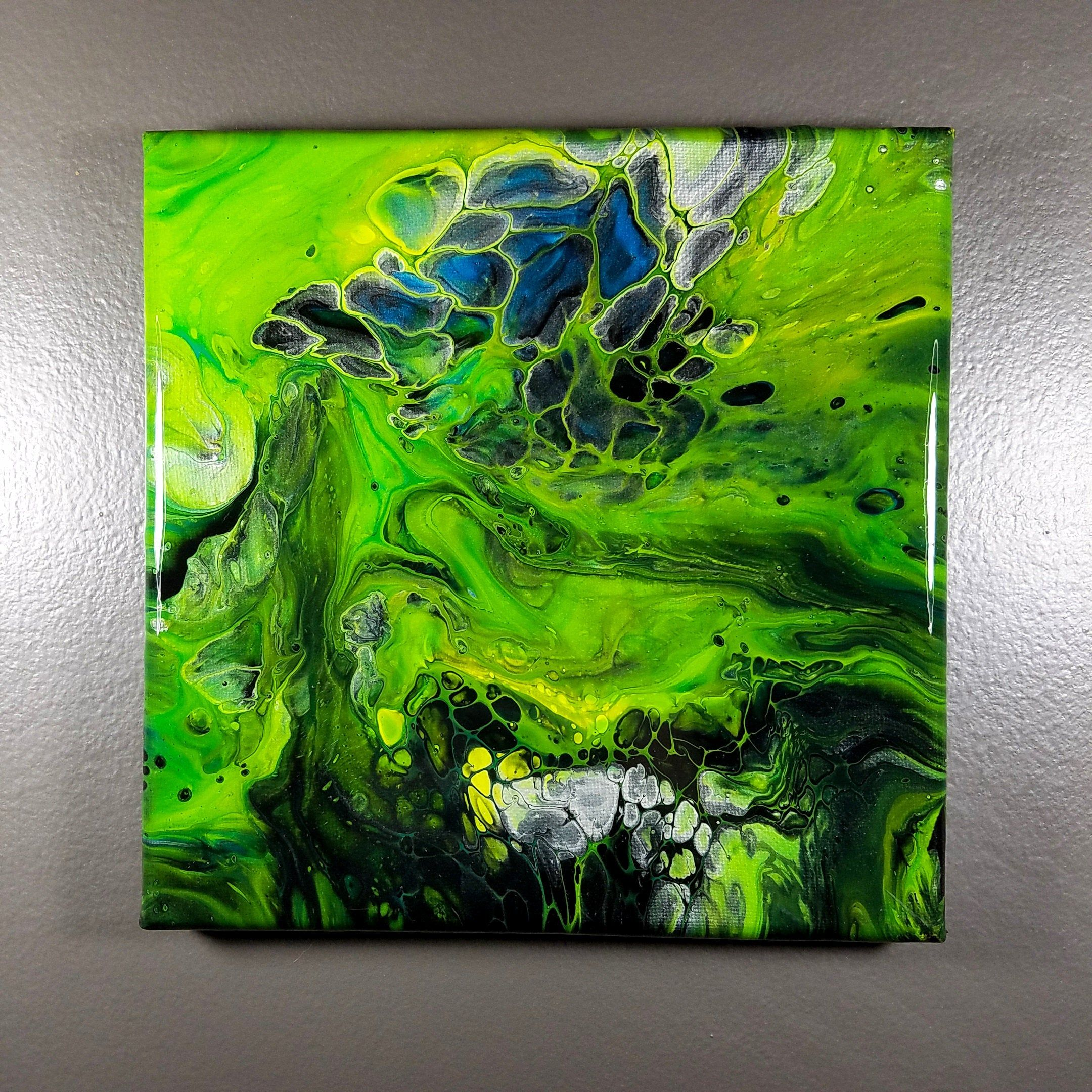 Acrylic Pour Painting 75