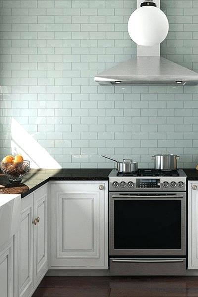 Glass Mint Subway Tile Backsplash Google Search In 2020 Kitchen Wall Tiles Kitchen Wall Tiles Modern Kitchen Floor Tile