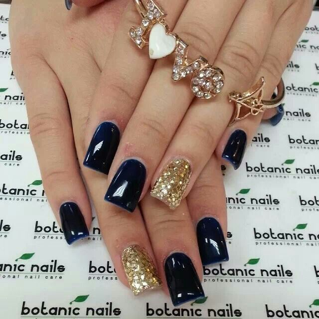 GOLD Nail Art Design Ideas ... Make Them Work For You