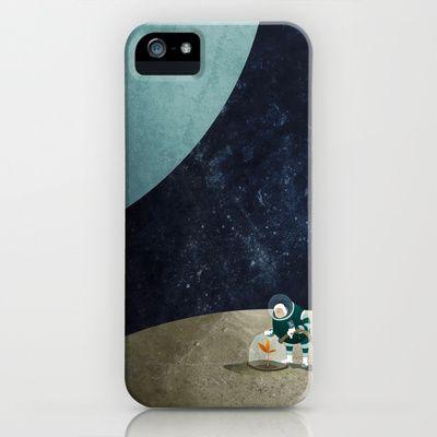 The Space Gardener iPhone & iPod Case by Mark Bird