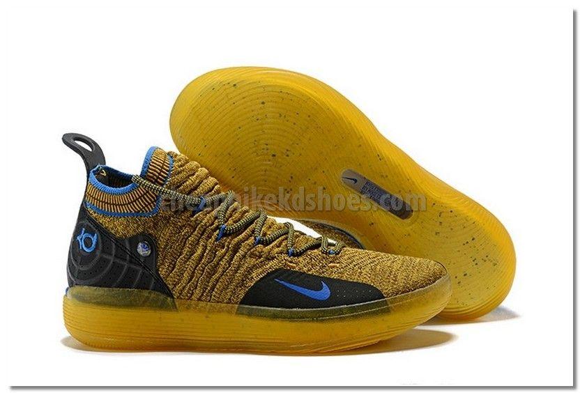 "Free Shipping Nike KD 11 ""Gold Splatter"" Multi ColorMetallic Gold AO2604 901"