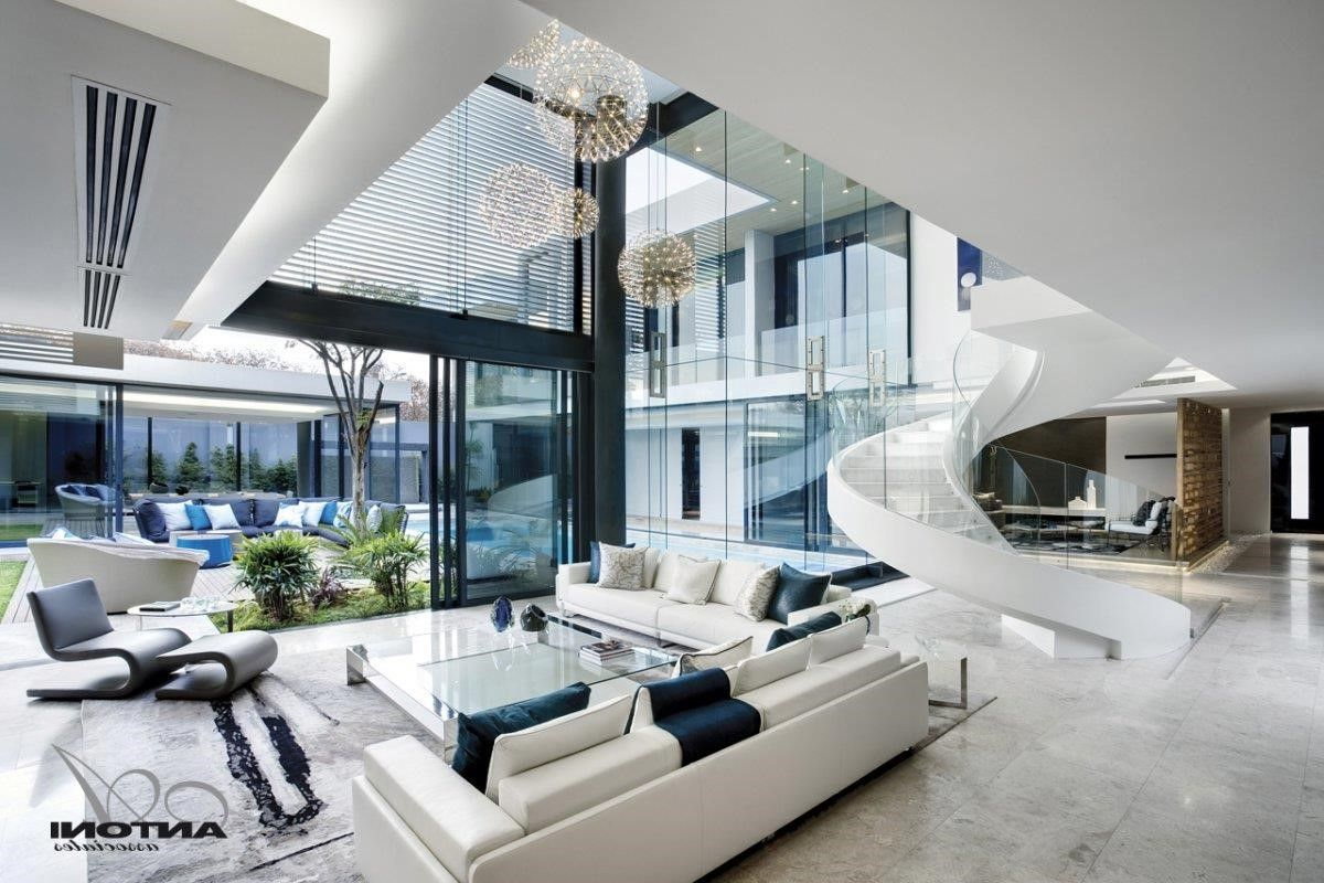 marvellous futuristic living room design | marvellous modern home interiors images simple design home ...