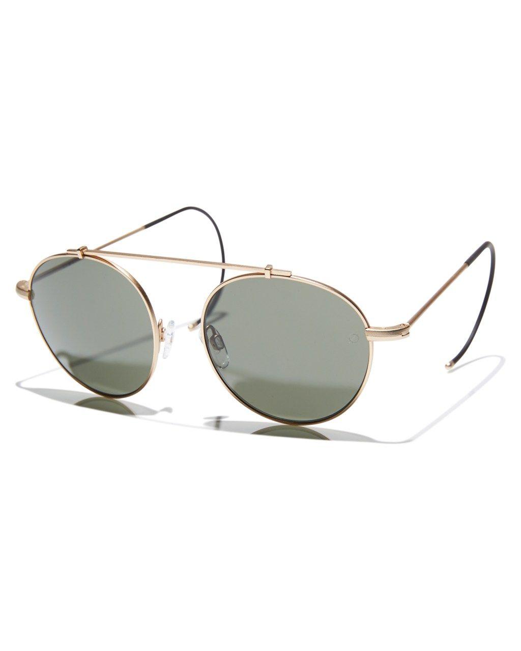 dbedf8089ec Epokhe Xoa Sunglasses Gold Antique Grey Mens sunglasses Size ...