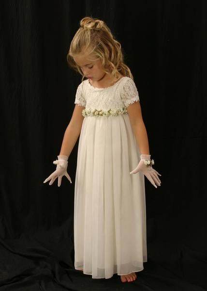 Sky   Bridal parties, Communion and Flower girl dresses