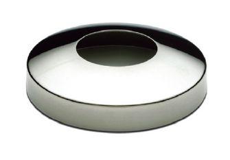 Cache Platine Ronde Pour Tube 43mm En Inox 316l Finition Poli Miroir Ou Brosse Garde Corps Exterieur Inox Miroir
