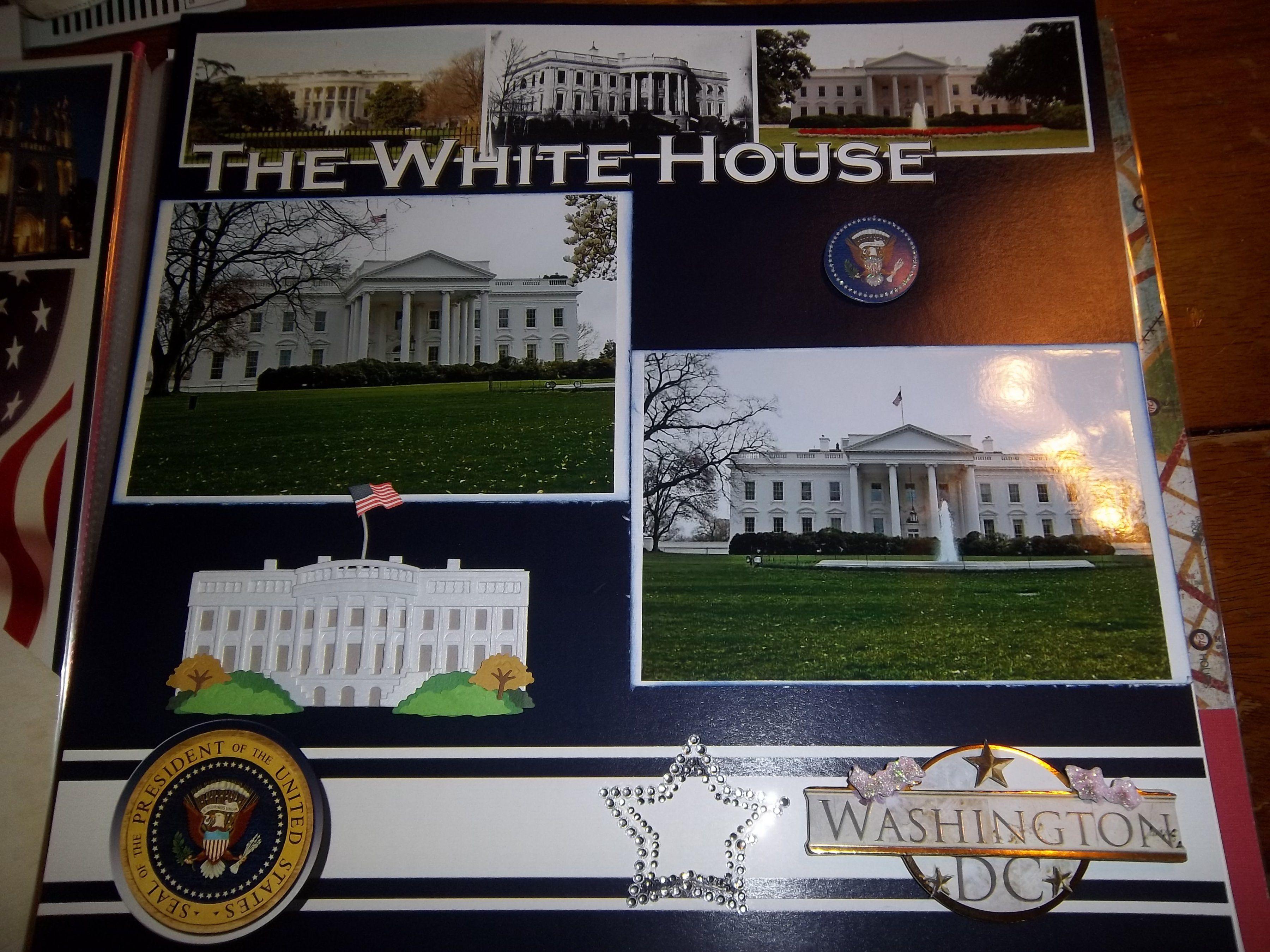 Vietnam scrapbook ideas - Dc The White House Scrapbook Com