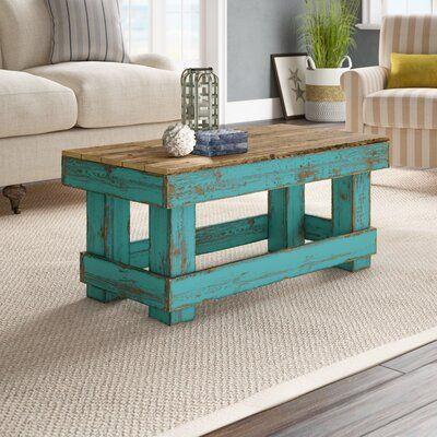 Rosecliff Heights Ladd Solid Wood Coffee Table Wayfair In 2020 Coffee Table Wood Solid Wood Coffee Table Coffee Table