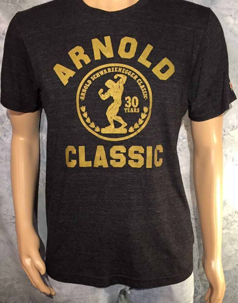 OFFICIAL Homage ARNOLD SCHWARZENEGGER CLASSIC 30 Body Building VINTAGE T- Shirt M  fashion  clothing  shoes  accessories  mensclothing  shirts (ebay  link) 7fa4e8b55dc3