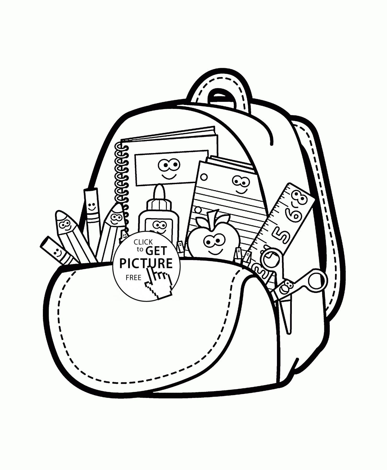 Nice Coloring Page Bag That You Must Know You Re In Good Company
