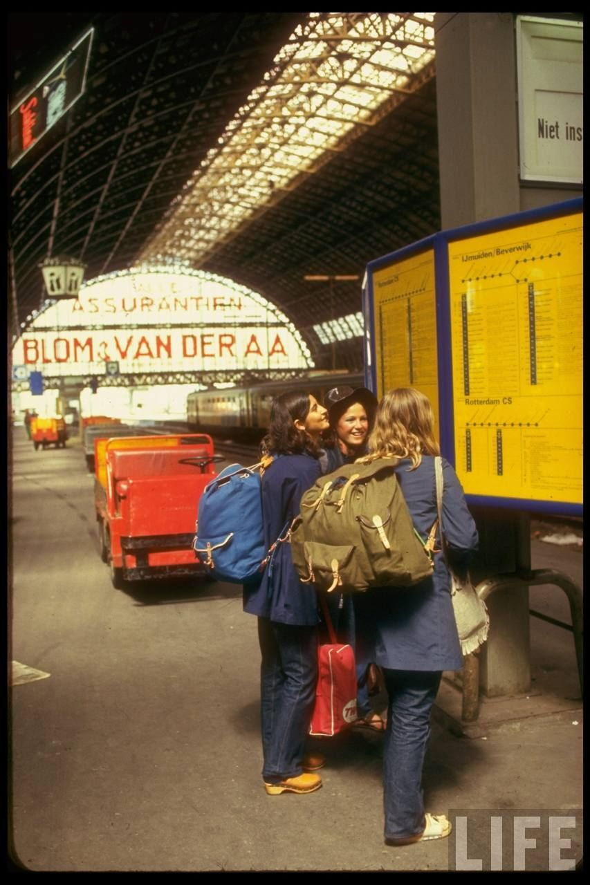1970 Europe Travel by Train