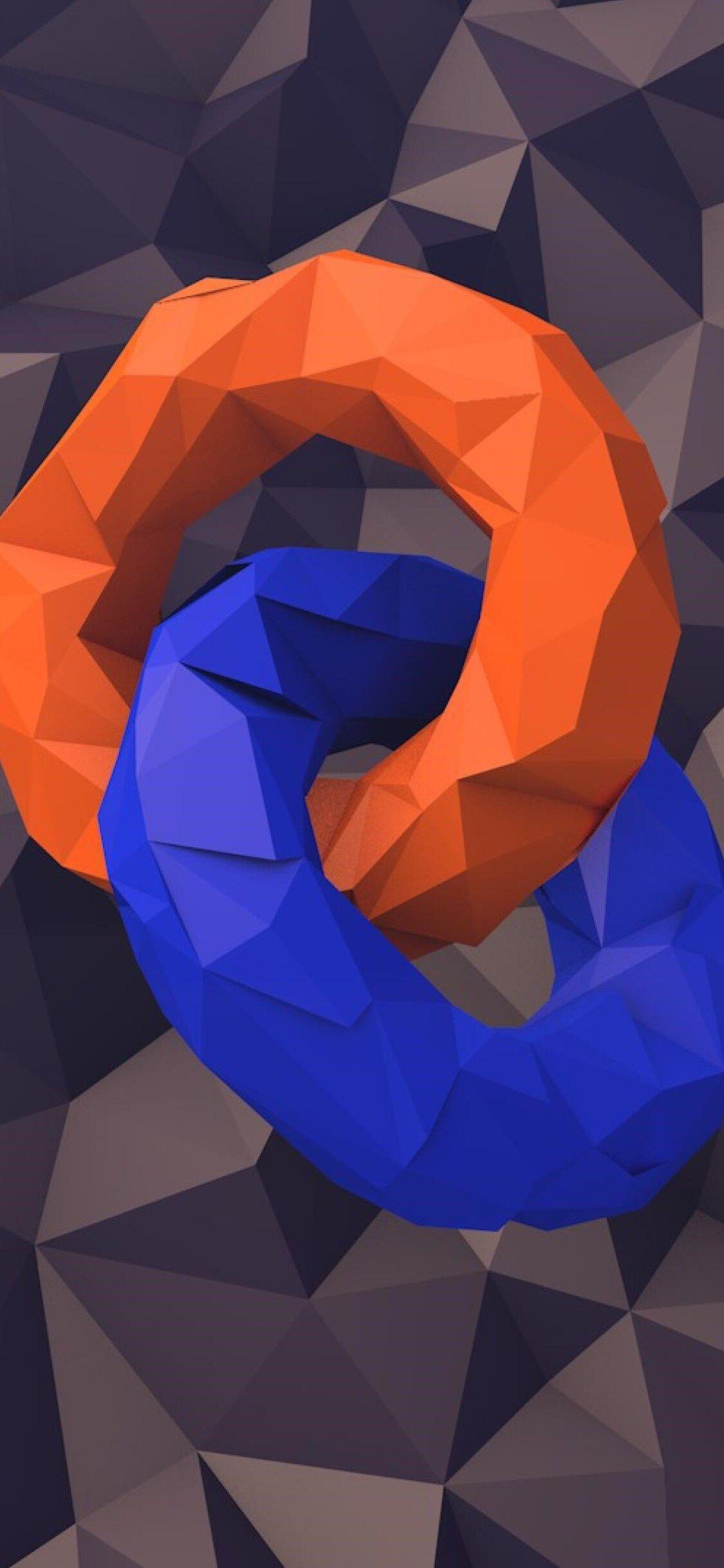 Circles Abstract iPhone X 4K Wallpaper