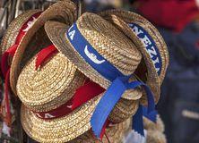 Los sombreros del gondolero Fotos de archivo  4658ef58d08