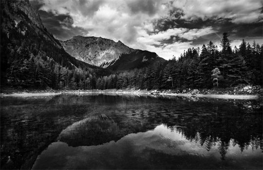 Beautiful Black And White Nature Photography Dark Landscape Black And White Landscape Nature Photography