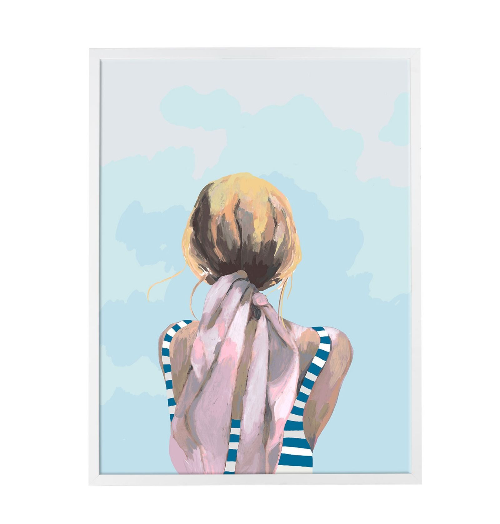 Our Blondie Watercolor Print Is Exclusively Designed And Printed