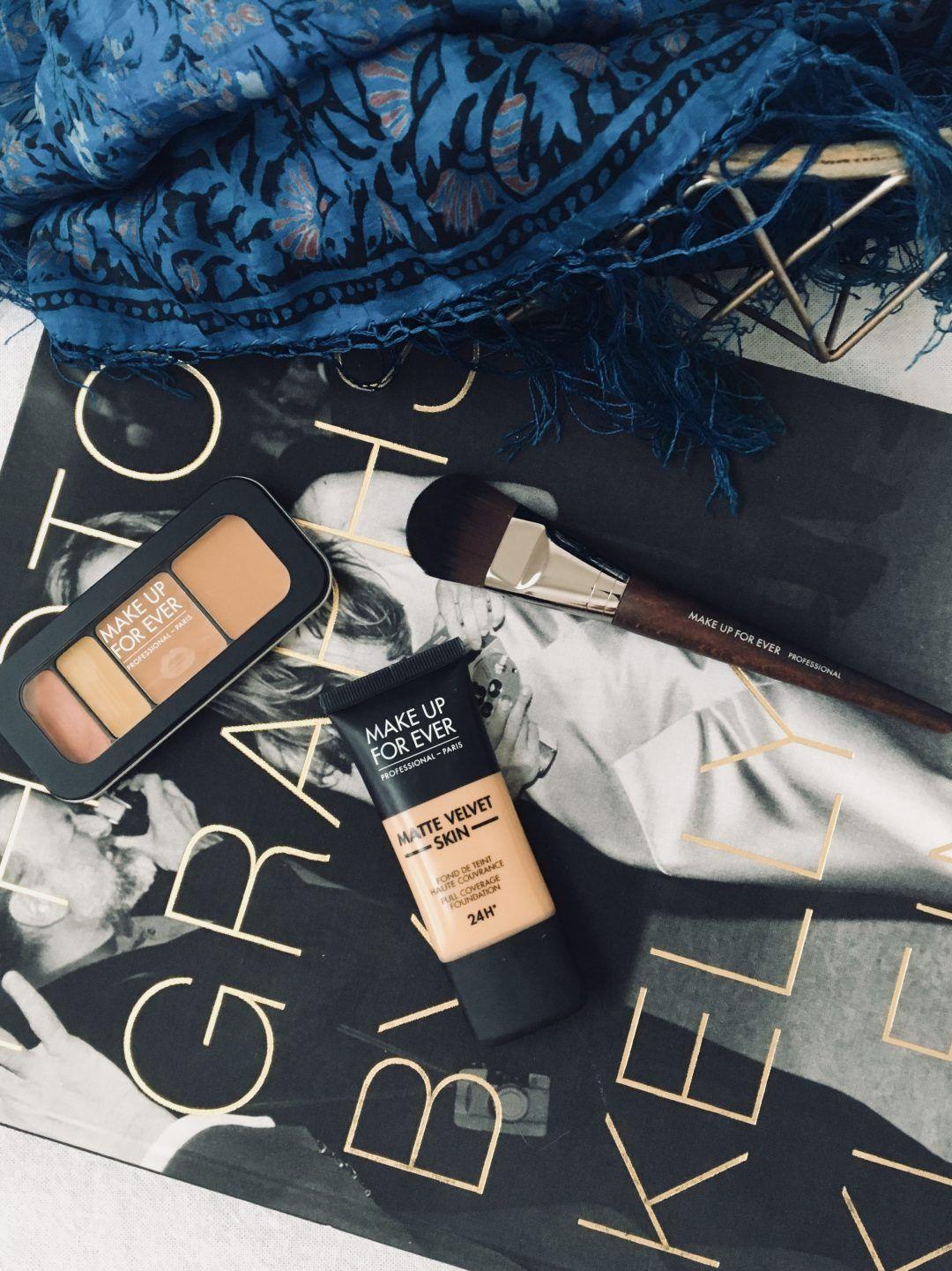 Make Up For Ever Matte Velvet Foundation Review Velvet