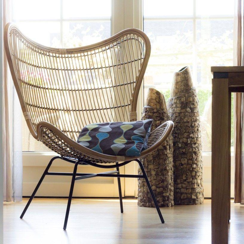 Rieten Fauteuil Te Koop.Super Mooie Rieten Vlinderstoel Is Een Echte Eyecatcher