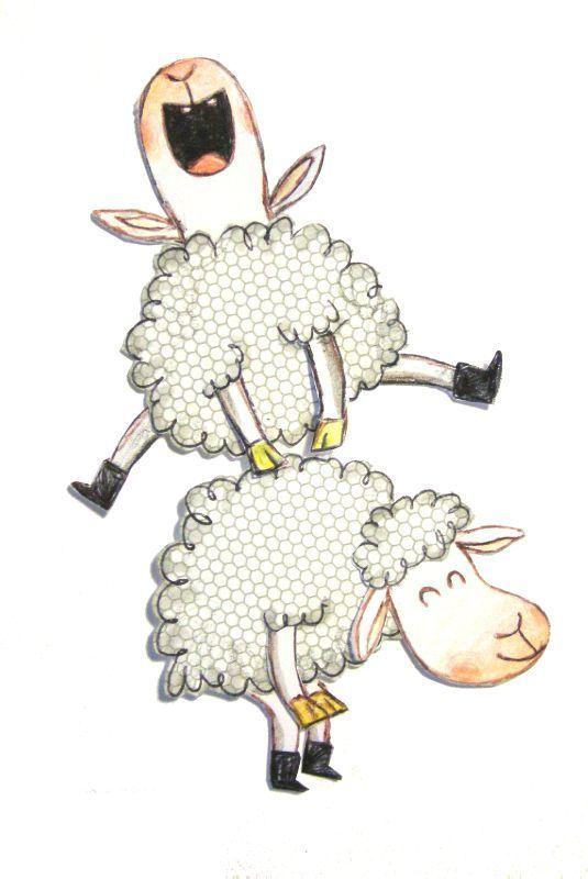 Les Chosettes Page 81 Les Chosettes Illustration De Moutons Mouton Dessin Image Mouton
