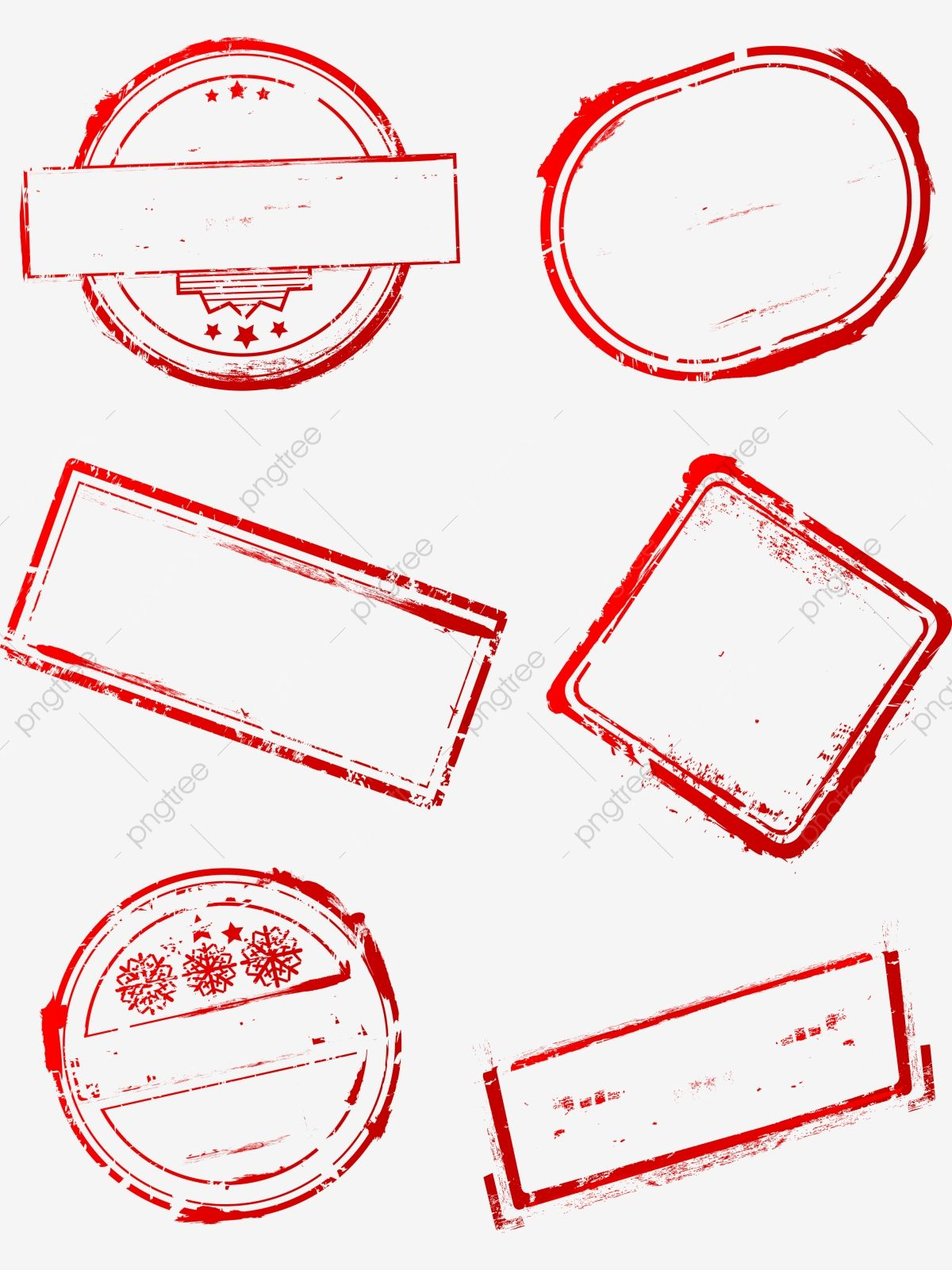 Download This Six Creative Red Seal Border Ai Material Pattern Red Border Stamp Border Border Material Transparent Png Or Stamp Frame Banner Prices Ink Pads