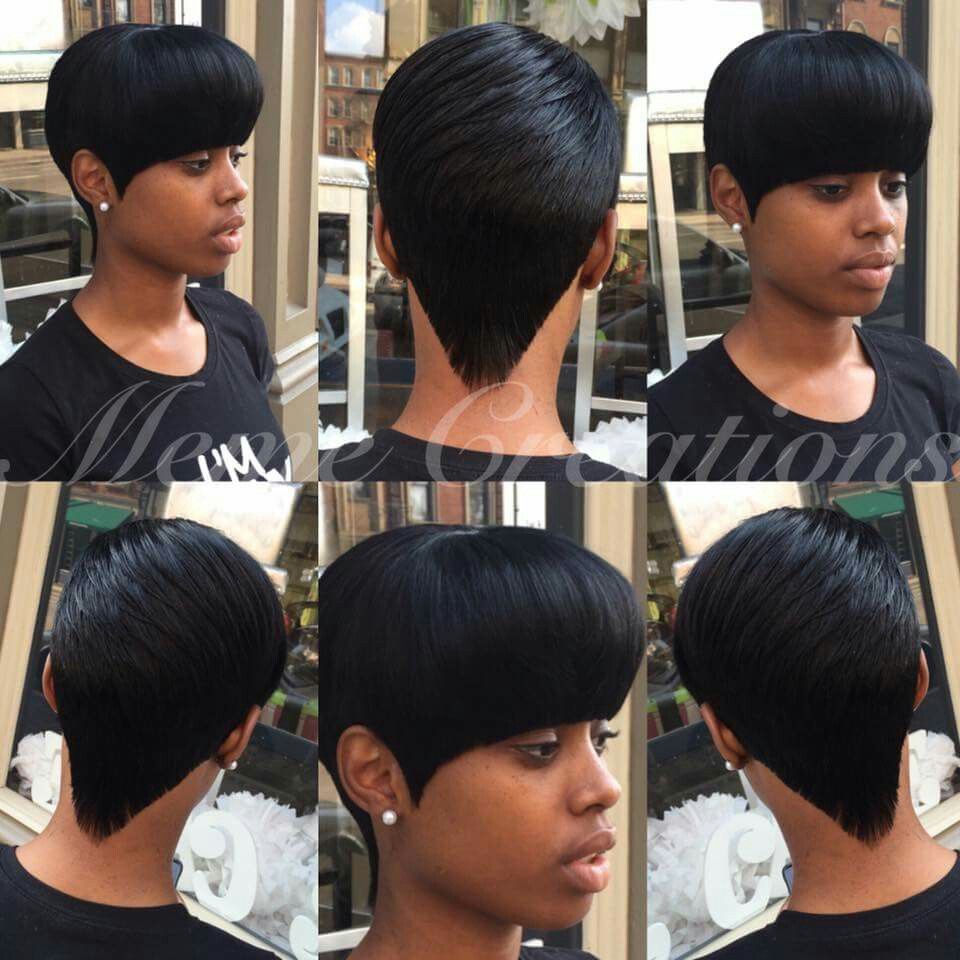 Pin By O Symone On All Things Hair Quick Weave Hairstyles 27 Piece Hairstyles Short Hair Styles