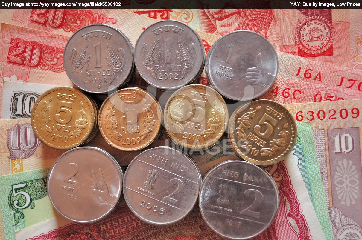 india money free download indian currency coin stack placed on