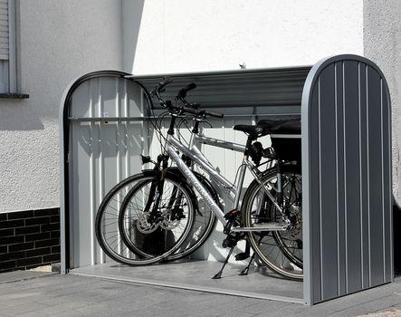 Metallbox Fur Mulltonnen Rader U V M Fahrradgarage Fahrradbox Biohort