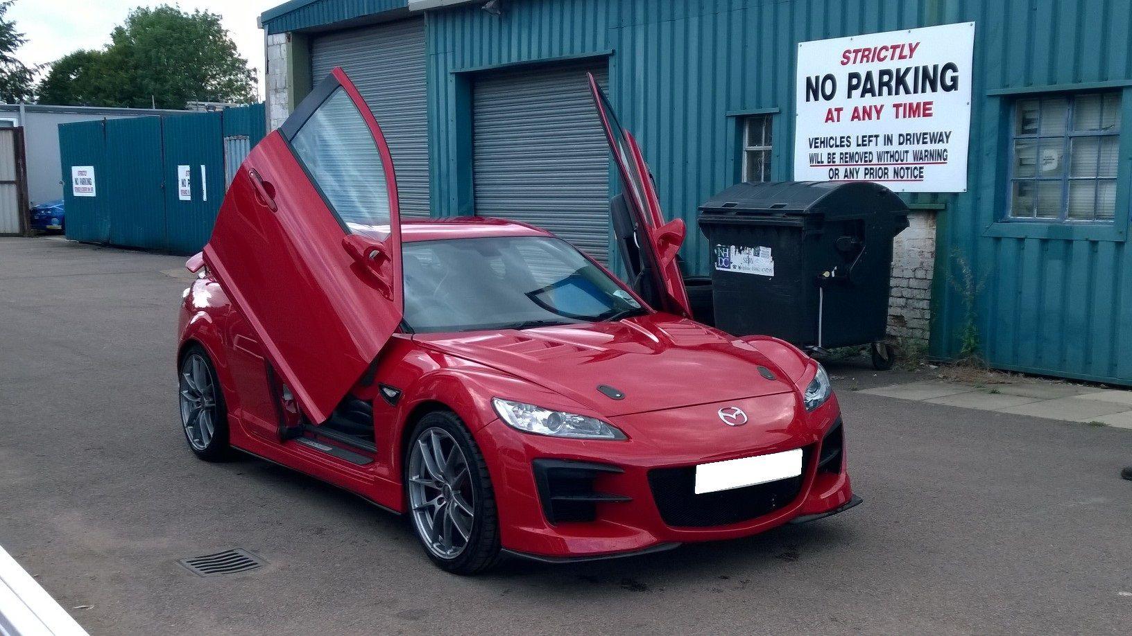 Mazda RX8 Modified M\u0027z Custom No Parking Renesis Lambo & Mazda RX8 Modified M\u0027z Custom No Parking Renesis Lambo Doors ...