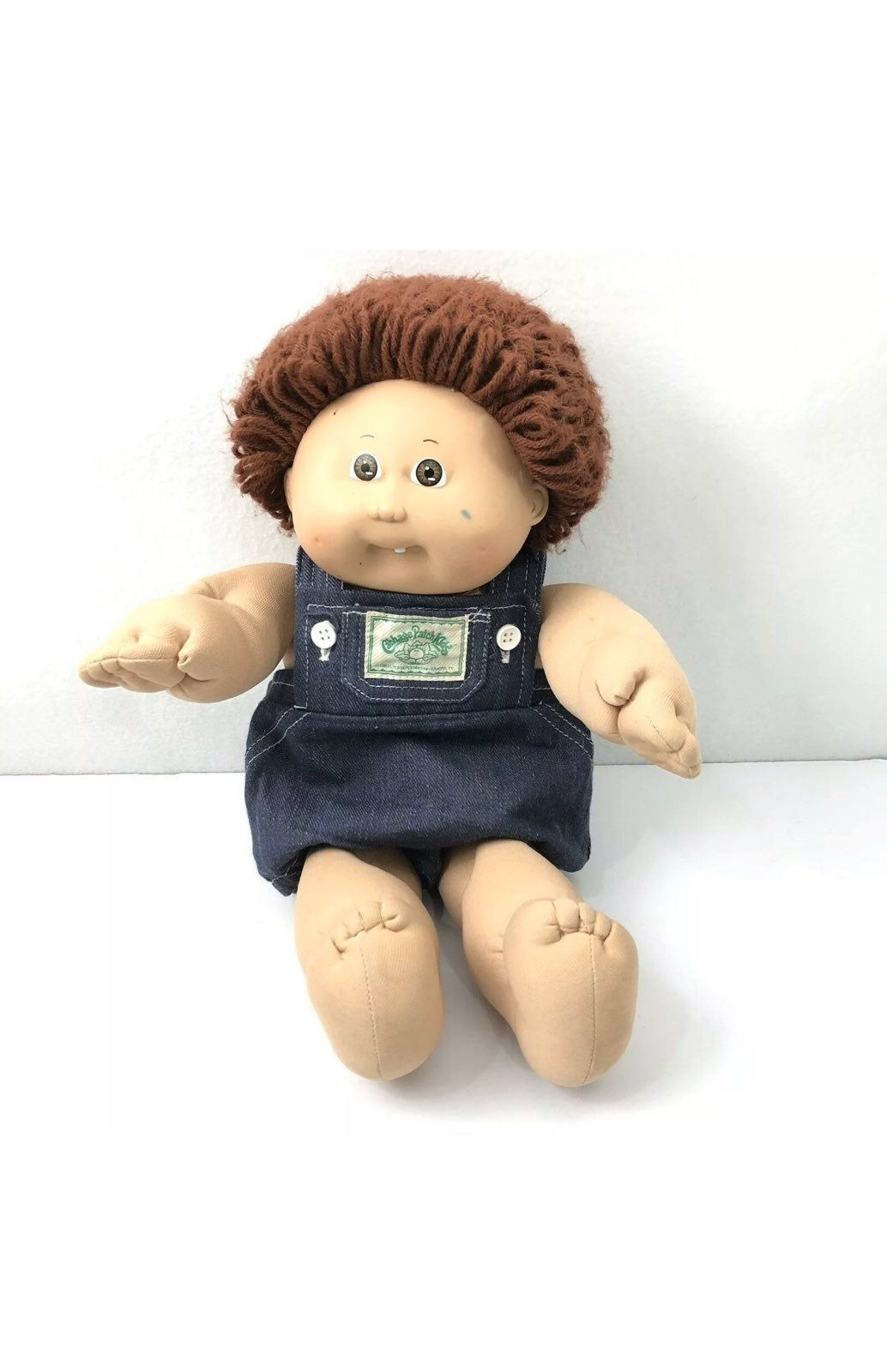 Vintage Xavier Roberts Cabbage Patch Kids Doll 1978 1982 Boy Red Loop Hair Great Vintage Condition Over Cabbage Patch Dolls Cabbage Patch Cabbage Patch Kids