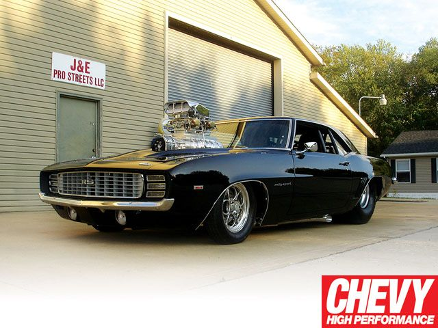 D Classic Chevy Muscle Car Readers Rides 1969 Rs Camaro