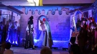 """Vídeo grabado por Puri Román. Escena preciosa entre el Capitán moro y Zelin. """" Los Papeles de Zújar """""""