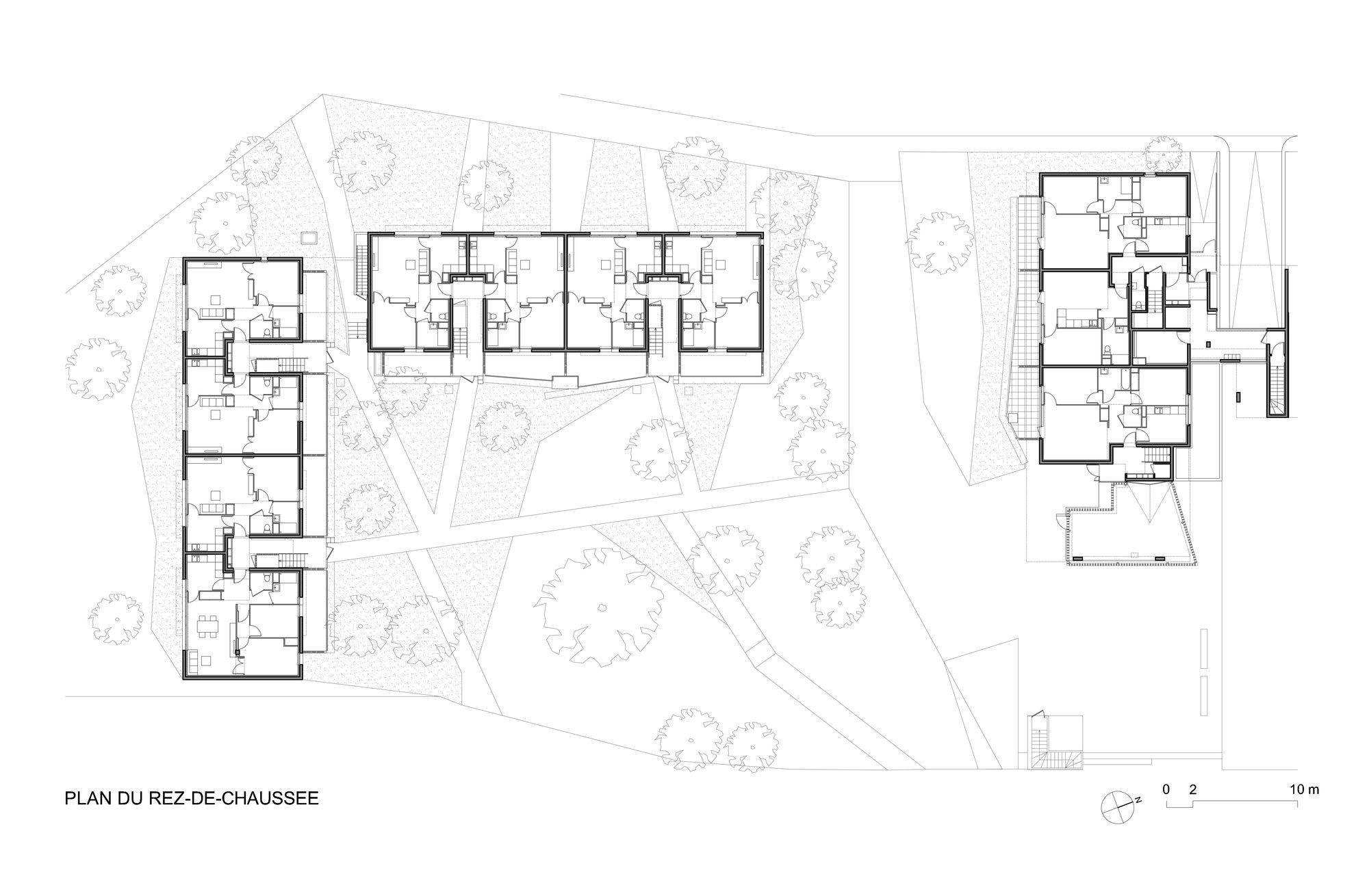 Image 11 Of 14 From Gallery Of 38 Social Housing In Eaubonne Lem Floor Plan Social Housing Floor Plans Duplex Floor Plans