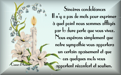texte carte de condoléances Texte deces condoleances (avec images) | Texte décès, Texte