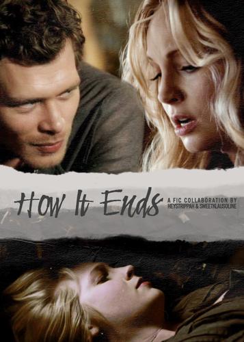 How It Ends | Klaroline | Vampire diaries, Klaus, caroline