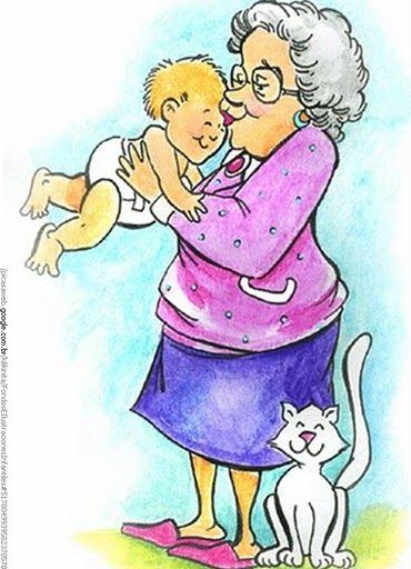 Прикольные картинки о бабушках и внучках, картинка днем